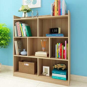 香可 组合书柜 置物书架 收纳储物柜100长  复古色