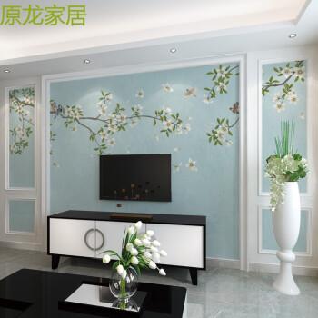 客厅现代简约电视背景墙墙纸立体影视墙壁纸壁画 材质图片