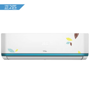 TCL 2匹 智能 定速 钛金除甲醛 冷暖 空调挂机(隐藏显示屏)(KFRd-50GW/LB13)