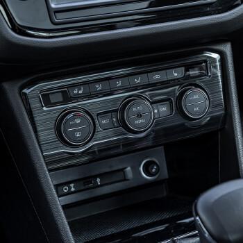 2017款大众途观l专用排挡面板框空调面板中控改装亮片