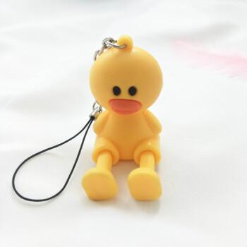苹果8p立体卡通手机桌面支架挂饰防滑公仔布朗熊可爱创意底座货号sn图片