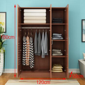 卧室家具 简易衣柜 臣祥(chenxiang) 木衣柜 简易木板卧室组装木质