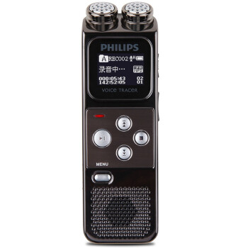 飞利浦(PHILIPS)VTR6900 高采样率高音质PCM线性一键紧急录音笔
