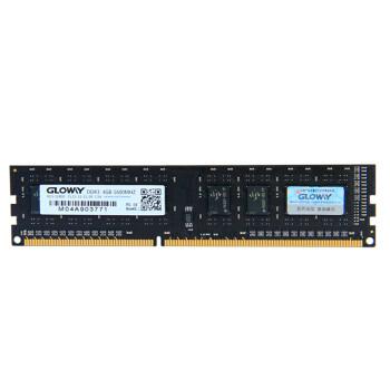 光威(gloway)DDR3 1600 4G 战将系列台式机内存条