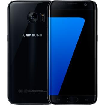 三星 Galaxy S7 edge(G9350)32G版 星钻黑 移动联通电信4G手机 双卡双待 骁