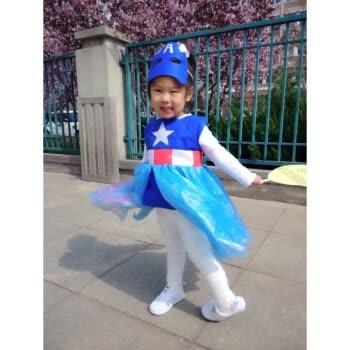 六一环保服装儿童时装秀表演服手工超人幼儿园亲子走秀环保服新款