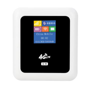 酷翼A12 3G4G无线路由器直插SIM卡电信联通三网随身mifi移动wifi 电信版(支持电信2G3G不带显屏)