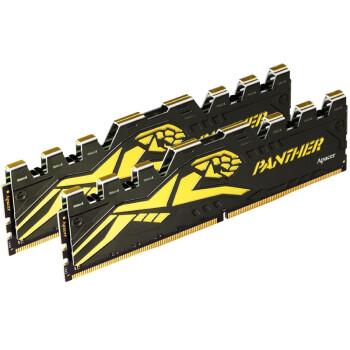 宇瞻(Apacer) 黑豹玩家系列 DDR4 台式机内存 2400  8G