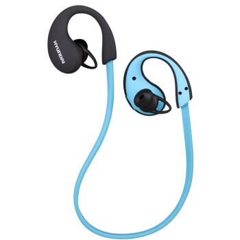 现代(HYUNDAI)HY-116 黑蓝色 运动蓝牙耳机/蓝牙4.1/立体声音乐播放/支持一拖二双待机/电量显示/超长待机