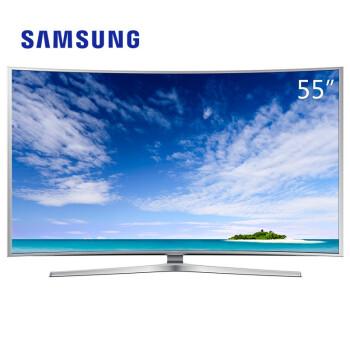三星(SAMSUNG) UA55JS9800J 55英寸 曲面超高清4k智能液晶3D电视 黑色