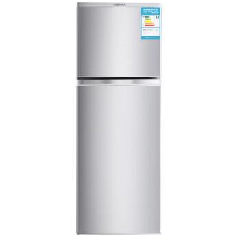 康佳(KONKA)BCD-108S 108升 双门冰箱 一级能效(银色)