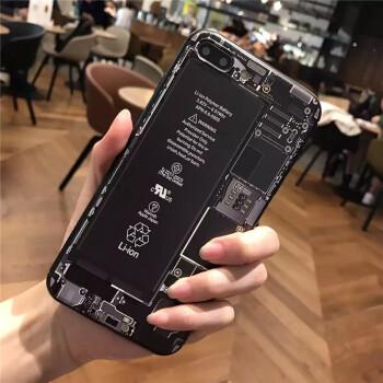 手机壳/iphone8plus保护套硅胶软壳全包防摔个性创意苹果内部结构