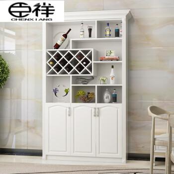 臣祥 新款家具欧式酒柜鞋柜一体白色客厅靠墙餐厅隔断图片
