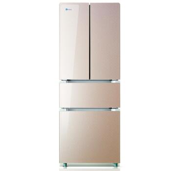 韩电(KEG)BCD-296CP4D 296升 法式四门冰箱 金色年华