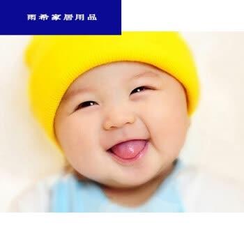 可爱宝宝墙画备孕早胎教娃娃挂画龙凤双胞胎海报可爱男女婴儿照片生活