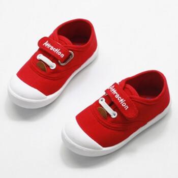 男童女童帆布鞋儿童鞋子幼儿园宝宝鞋防滑软底童布鞋