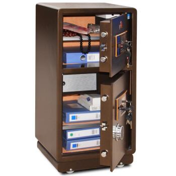 虎牌(TIGER)BGX-Y-80S双保险全钢保管箱/柜 家用办公特价