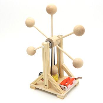 科技小制作摩天轮儿童手工拼装模型材料科技小发明作业 材料包(含胶)