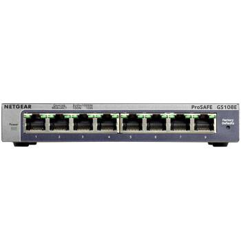 美国网件(NETGEAR) GS108E 8端口千兆简单网管交换机
