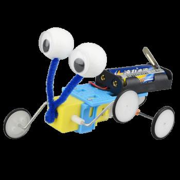 科技小制作小发明 男孩 自制爬虫机器人电动 小学生手工diy材料 电动图片