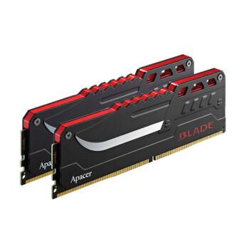 宇瞻(Apacer) 刀锋战士系列 DDR4 台式机内存 3000  16G发光版(8G*2)