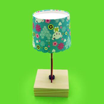 diy科技小制作科普小发明 手工小台灯拼装模型材料 定做 材料(含胶)