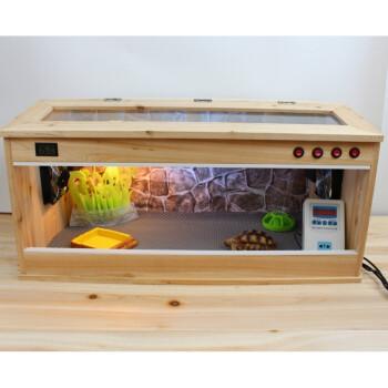 箱子爬行动物箱子实木乌龟保温箱迷你螃蟹冬季保温箱爬行动物爬虫饲养