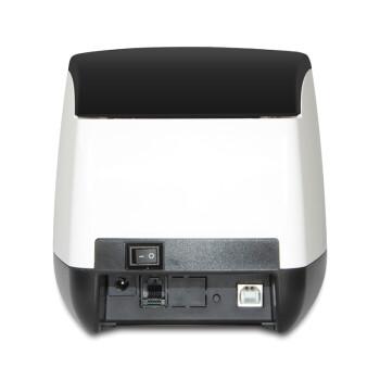 佳博炫印P3热敏条码不干胶打印机服装吊牌价格标签打印机餐饮小票打印机外卖打印机 黑白色 GP-P3