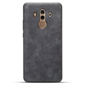 品盟 华为mate10保时捷版手机壳mate10pro皮纹保护套男女新款复古硅胶