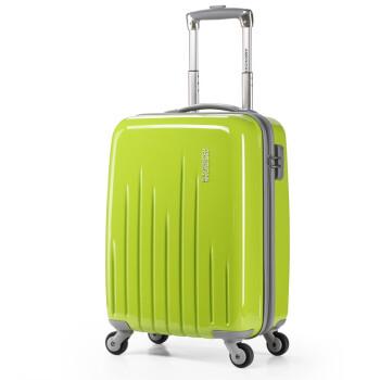 美旅箱包(AmericanTourister) 34R*14010 年轻时尚万向轮旋转拉杆箱 柠檬绿26寸