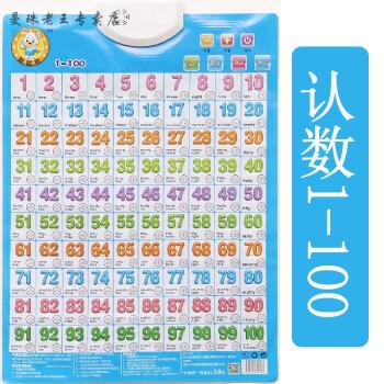有声挂图汉语拼音字母表小学生一年级声母韵母表识字有声挂画墙贴 认