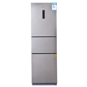 新飞(Frestec)BCD-216DEMK 216升 电脑控温 三门冰箱(金属拉丝灰)