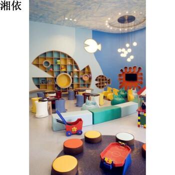 图书馆绘本馆幼儿园鱼型鲸鱼动物造型书架置物架展架壁架壁饰 大鱼(3*