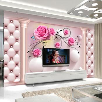 5d壁画电视背景墙壁纸3d立体8d墙纸现代简约大气影视墙布装饰客厅