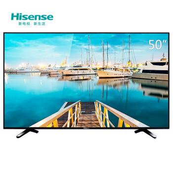 海信(Hisense)LED50EC590UN 50英寸 4K 智能电视 十核配置 双天线WIFI(黑色)