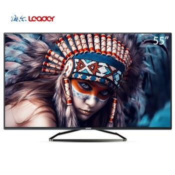 统帅(Leader)TS55K 55英寸安卓8核智能网络蓝光纤薄窄边框全高清LED液晶电视