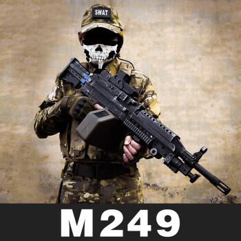 手工制作m249