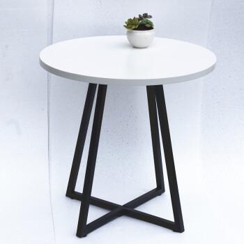 现代简约小圆桌洽谈桌铁艺桌子休闲咖啡桌吧台小桌子桌椅组合方桌 圆