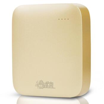 半岛铁盒(PADO) PL100 智能WIFI 土豪金 150M无线便携式3G路由器(内置10000mAh移动电源)