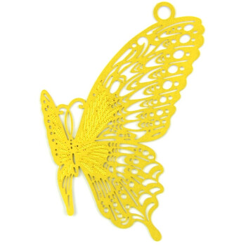 绍泽文化(ShaoZe Culture) 韩式创意镂空黄铜书签物语系列-金蝴蝶 贺卡信封卡片礼物