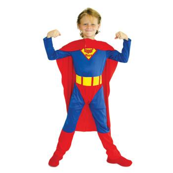 盛泉 六一儿童节服装 万圣节男童服装男超服超人服装衣服超人装 超人