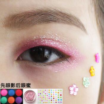 舞台妆眼影 单色珠光持久亮晶晶 粉色眼妆儿童表演闪亮不晕染sn4642 6图片
