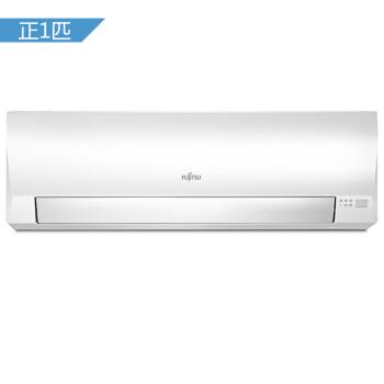 富士通 正1匹 3级能效 全直流变频 壁挂式家用冷暖空调(白色)(Fujitsu)ASQG09LNCA