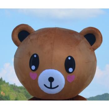 熊本熊可妮兔卡通人偶抖音网红熊表演求婚道具 布朗熊头(表情备注)图片