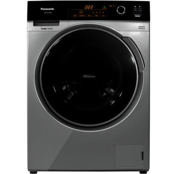 松下(Panasonic)XQG80-E8255 8公斤 变频滚筒洗衣机(银色)