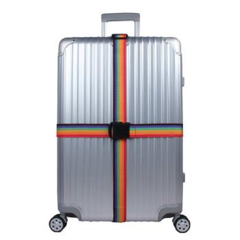 行李箱十字捆绑带出国托运拉杆箱包密码加固捆箱带子保护带 十字卡扣图片