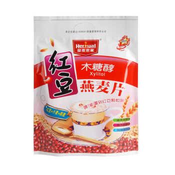 > 皇麦世家木糖醇红豆燕麦片 无糖即食美味营养早餐粗粮麦片538g(18