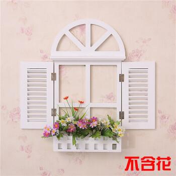 欧式假窗户壁挂地中海风格假窗田园墙面壁饰电表箱装饰家居56 迷你号