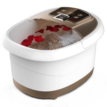 朗康 足浴盆 自动按摩洗脚盆 自助/电动按摩恒温加热泡脚深桶足浴器浴足盆 LK-8106自助算珠滚升级版