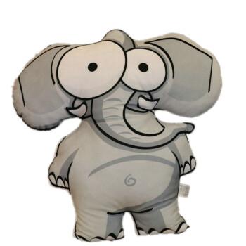 朵啦啦 丛林q版动物抱枕 毛绒玩具大号布娃娃玩偶公仔